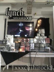 lynch.×エンタバアキバコラボショップ CD展示スペース