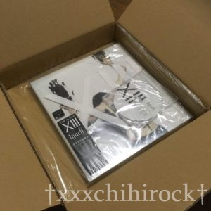 lynch.のXIII数量限定豪華盤が届いた時の箱