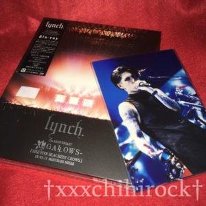 lynch.の幕張メッセ公演Xlll GALLOWSのBlu-rayと特典のフォトセット