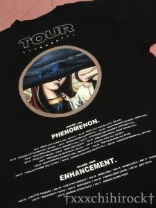 the GazettE NINTHツアー02のTシャツ