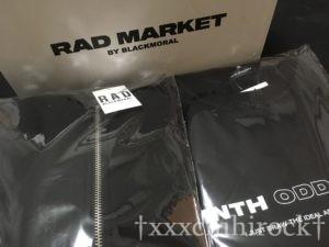 RADMARKET NINTH02のパーカーとTシャツ