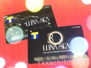 LUNA SEAのTカード
